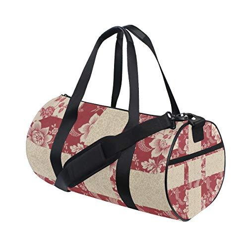 DEZIRO - Sporttasche mit Colc-Muster