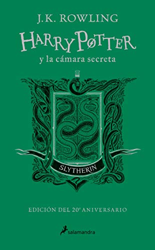 Harry Potter and the Chamber of Secrets. Slytherin: Green (20 Anniversary)