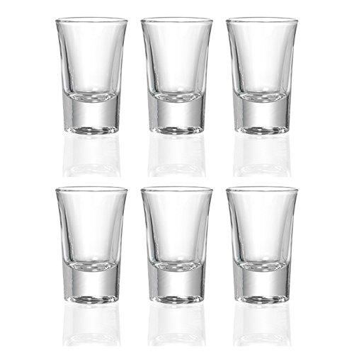 Ritzenhoff & Breker 4All Stamper-set, borrelglas, 6-delig, transparant, glas, 40ml