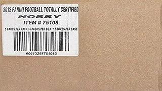 Sports Memorabilia 2011 Panini Totally Certified Football Hobby 12-Box Case - Football Wax Packs