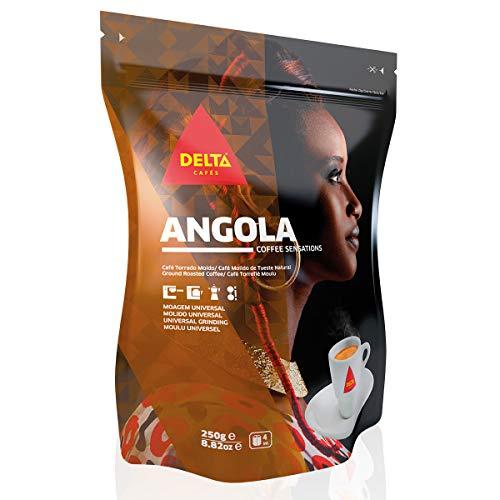 Delta Gemahlener Röstkaffee aus Angola für Espressomaschine oder Beutel 250g