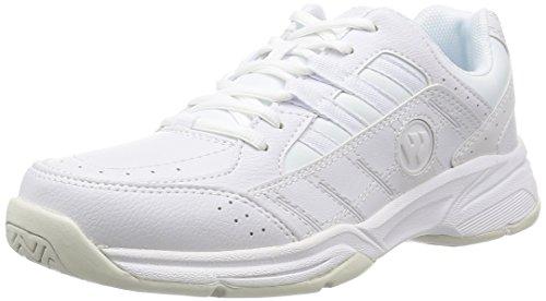 Wimbledon WM4000 Men's 0 0 Sneakers, Athletic Shoes, School Shoes, White - white