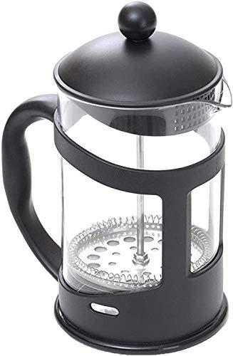3d Creations French Press - Cafetera para té y café, émbolo de café negro (600 ml)