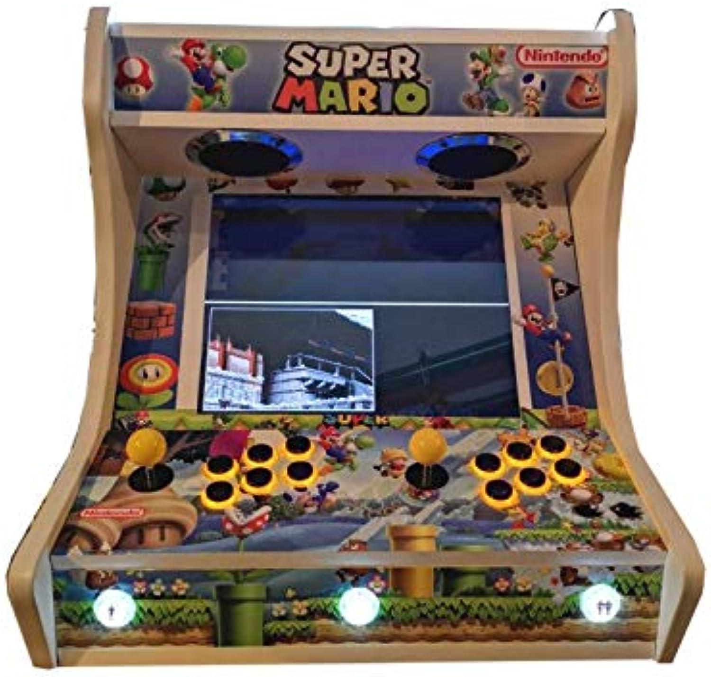 para barato Roboticaencasa Arcade BARTOP VIDEOCONSOLA Retro máquina máquina máquina recreativa -Tamaño Real- Diseño- súper Mario Bros  Venta en línea de descuento de fábrica