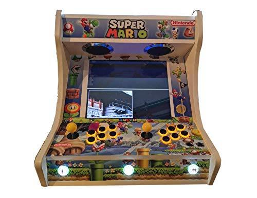 Arcade BARTOP VIDEOCONSOLA Retro máquina recreativa -Tamaño Real- Diseño- Super Mario Bros