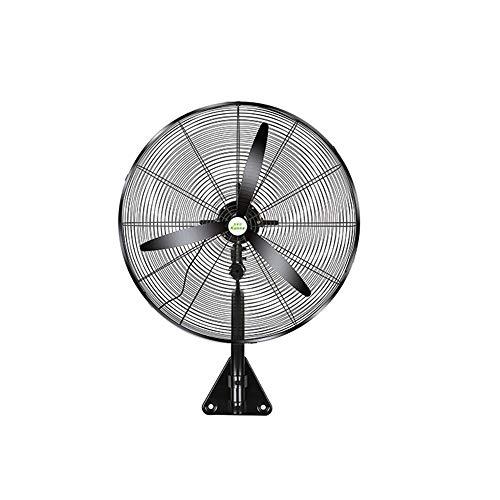 FUFU Climatizadores evaporativos Ventilador de montaje en pared oscilante, 3 velocidades, 120 ° Oscilación Soporte de montaje en pared de metal resistente para uso industrial, comercial, residencial e