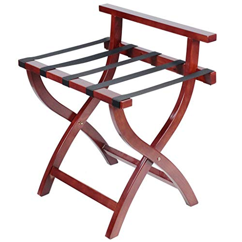 Why Choose Classic Wooden Luggage Rack Foldable Design Easy Assembly,for Hotel,Home, Bedroom,Travel ...
