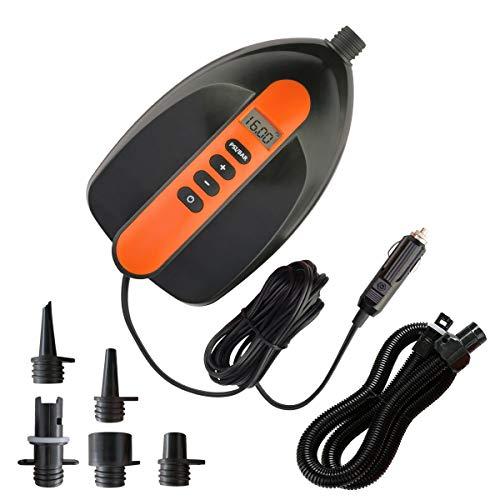 Electric Paddle Board Pump, 16 PSI Digital SUP inflator Pump with...