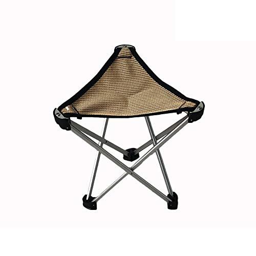 Chaise Pliante, Tabouret de Camping Triangle Portable en Plein air Camping Chaise de pêche Chaise de Barbecue Petit Cheval Quatre Couleurs en Option