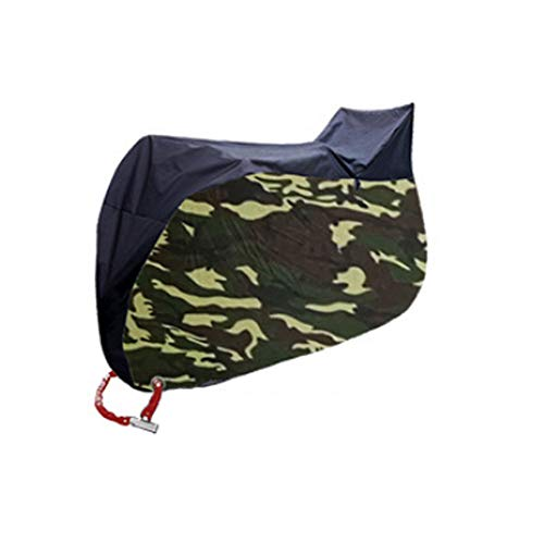 Heerda 190T - Cubierta impermeable para bicicleta o moto (protección solar y lluvia), c, 210D