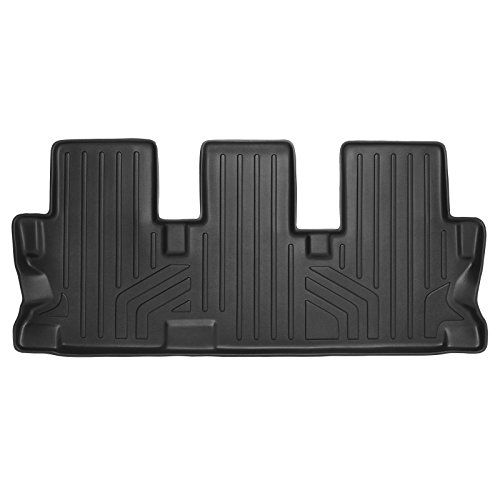 MAXLINER Floor Mats 3rd Row Liner Black for 2014-2018 Toyota Highlander with 2nd Row Bench Seat