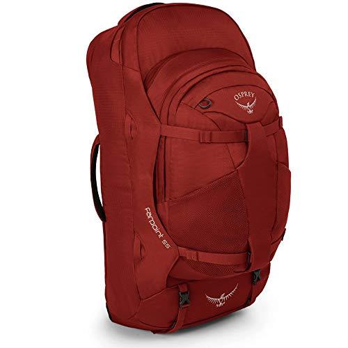 Osprey Farpoint 55mochila, Jasper Red (Rojo) - 10000293