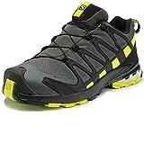 Salomon XA Pro 3D V8 GTX, Zapatillas De Trail Running Y Sanderismo Impermeables Versión Màs Ligera Hombre, Color: Gris (Urban Chic/Black/Lime Punch), 42 EU