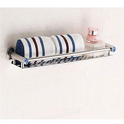 NEHARO Estante de Ducha Canasta de Almacenamiento de baño Plataforma de baño con riel de Acero Inoxidable baño Caddy Organizador Cesta montado en la Pared baño para Accesorios de Cocina y baño.
