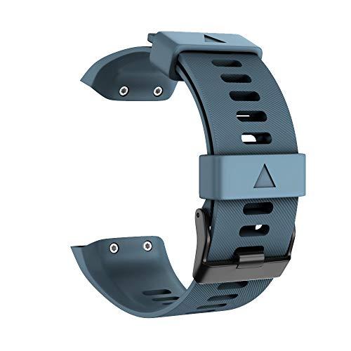 Andifany Ersatz Band für Forerunner GPS Laufende Uhr 35 Silikon Band Marinr