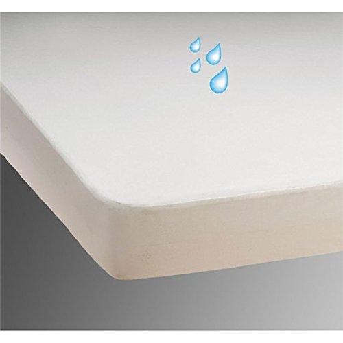 24-Bedding Protector de colchón Impermeable - Cuidado de la incontinencia - Funda de Ropa de Cama 90 x 210 cm - 90 x 210 cm