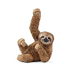 SCHLEICH Wild Life Sloth Educational Figurine for Kids Ages 3-8