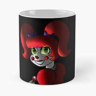 Five Nights At Freddy's - Sister Location Baby Classic Mug The Funny Coffee Mugs For Halloween, Holiday, Christmas Party Decoration 11 Ounce White-duluthpack.