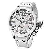 TW Steel Reloj analogico para Mujer de Cuarzo con Correa en Piel CE1037