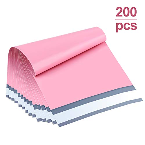 6x9 Poly Mailers Bags White Shipping Envelopes Mailers Bags with Self Adhesive UCGOU 200 Pack