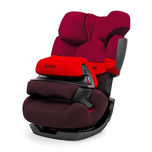 Cybex 514108002 Silver Pallas Seggiolino Auto per Bambini, Gruppo 1/2/3 (9 - 36 Kg), Collezione 2015, Rumba Red
