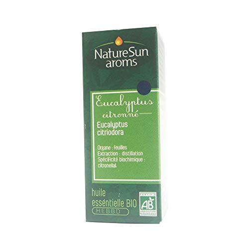 Nature Sun Aroms - Lemon Eucalyptus Organic Essential Oil 10 ml by NatureSun Aroms