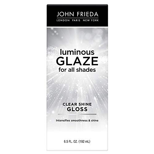 John Frieda Luminous Glaze Clear Shine Gloss, 6.5 Ounces, Anti-Fade, Color Enriching Gloss, Safe for Color Treated Hair