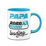 Tassenbrennerei Taza con texto en alemán 'Papa Loading' 2020 – Regalo para los padres – Mama...
