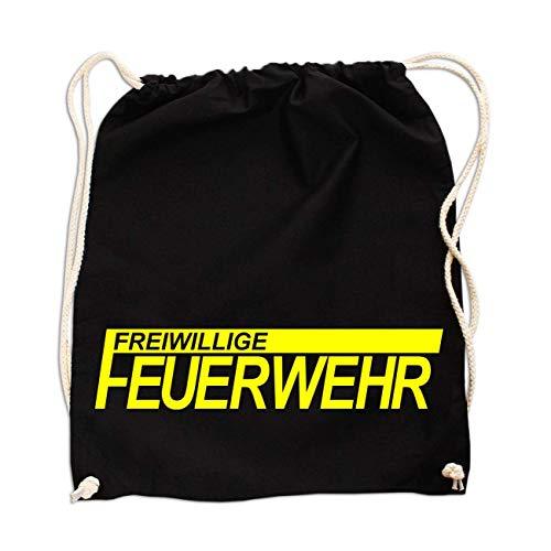 Rucksack FFW Freiwillige Feuerwehr NEONGELBER Druck