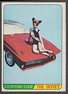 1968 Topps Hot Rods trading card Irving Kirschner's The Honey
