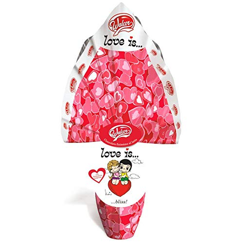 Uovo di Pasqua al Latte LOVE IS LOVE 200gr. Walcor