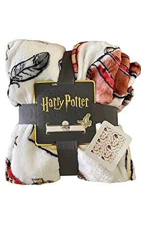 Harry Potter Gryffindor School - Manta (120 x 150 cm), diseño de Gryffindor