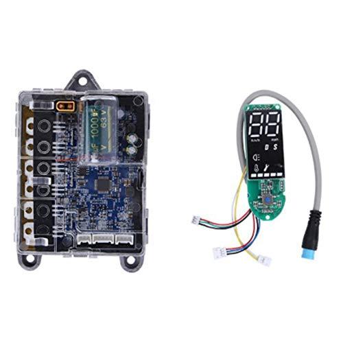 Kuinayouyi Controlador de Placa Base de Pantalla Digital Actualizado Placa de Circuito ESC para Mijia M365 y Scooters EléCtricos Profesionales