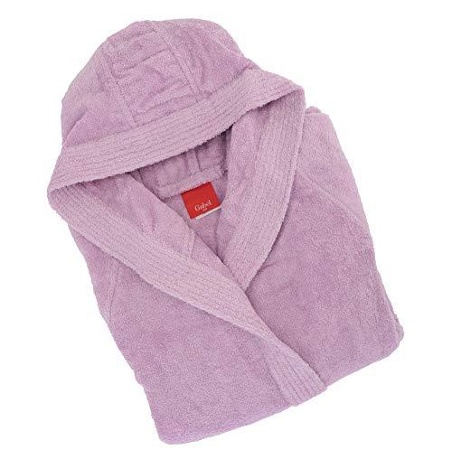 Gabel - Albornoz para Adulto, 100% algodón Violeta Violeta M