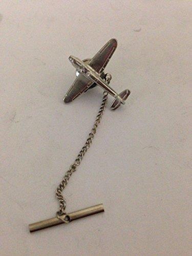 Messerschmitt Bf 109 c19 Luchtvaartuig Luchtvaart Vliegtuig Tie Pin Met Ketting Gemaakt Van Engels Moderne Tin gepost door ons geschenken voor alle 2016 van DERBYSHIRE UK