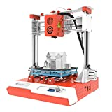 Mini Desktop Children 3D Printer 100x100x100mm Print Size High Precision Mute Printing with LCD Screen TF Card PLA Sample Filament for Kids Beginners Creativity Education Gift