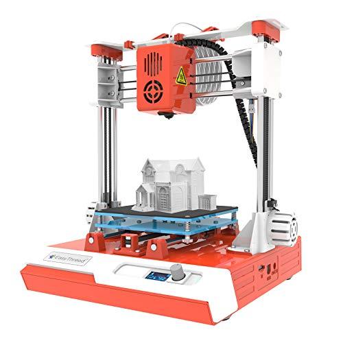 Festnight Mini desktop per Bambini Stampante 3D 100x100x100mm Dimensioni di Stampa Stampa muta ad alta precisione con schermo LCD Scheda TF PLA Filamento campione per Bambini Principianti Creatività