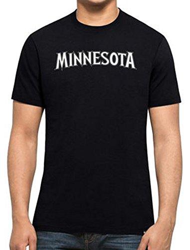 47 Brand NBA Minnesota Timberwolves Wolves T-Shirt Splitter T Basketball (X-Large)