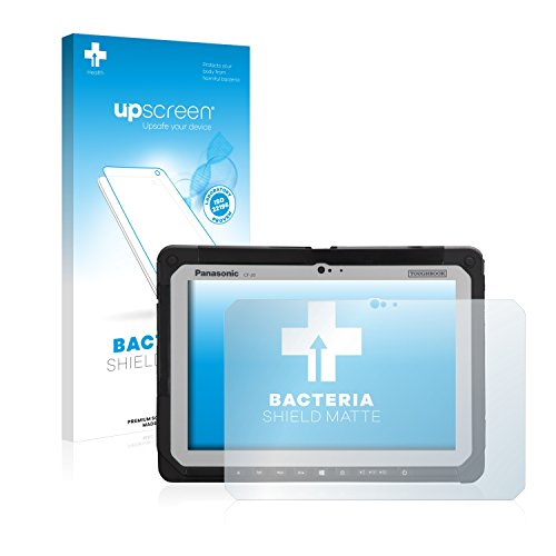 upscreen Antibakterielle Entspiegelungs-Schutzfolie kompatibel mit Panasonic Toughbook CF-20 - Anti-Reflex Bildschirmschutzfolie matt, Anti-Fingerprint