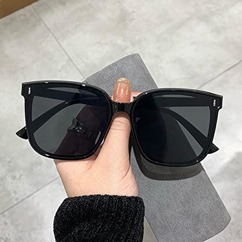2021 Vintage Retro Square Gafas de sol Mujeres Moda Marca de gran tamaño Gafas de sol Hombres Mujeres Clásicos Gafas