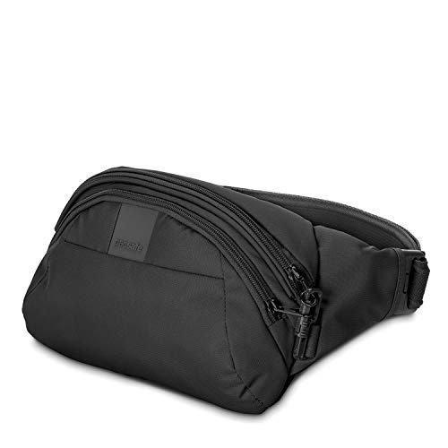 Pacsafe Metrosafe LS120 Anti-Diebstahl Nylon Hipbag, Hüfttasche für Damen und Herren,...