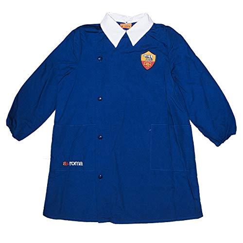 AS Roma Grembiule Bambino Blu Scuola ELEMENTARE R1038 (80-134CM-9ANNI, Blu)