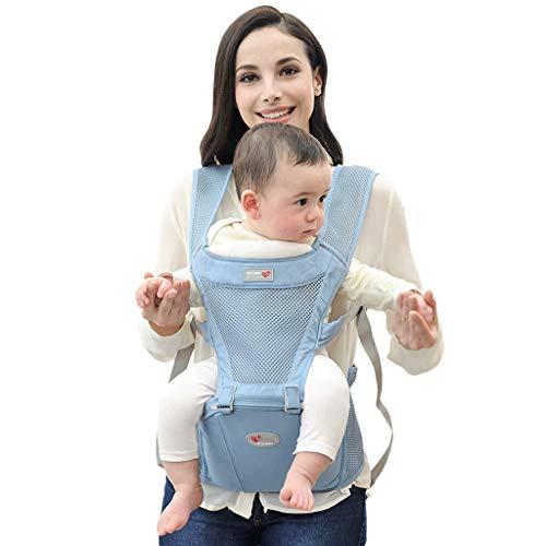 Usage été Porte-bébé Multifonction Respirant Assis sur Le Banc de Taille Devant de bébé Usage général ( Color : C )