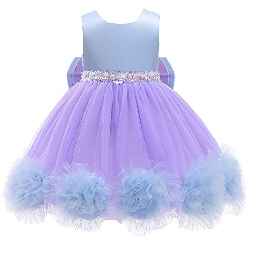 Vestido blanco para niñas de princesa Elsa Cotume con tren largo para niños, Halloween, Navidad, cumpleaños, vestido blanco, 5 años