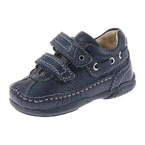 Primigi. Babyschoenen voor jongens halve schoen Sneaker Ciro met klittenbandsluiting Blue 8106077