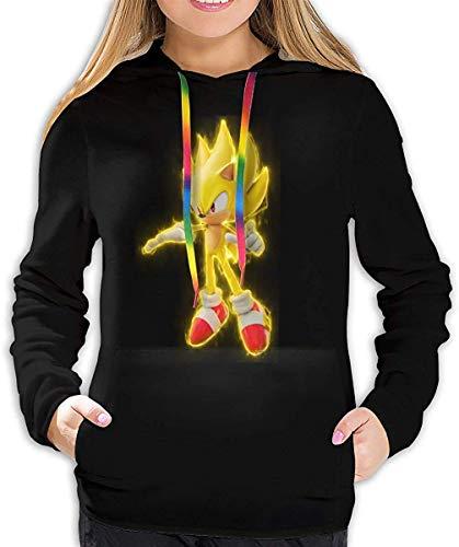 EYSKJ Hoodie Capucha Soni-c The Hedgehog Women Pullover Sudadera 3D Printed Sweatshirt Long Sleeve Hooded
