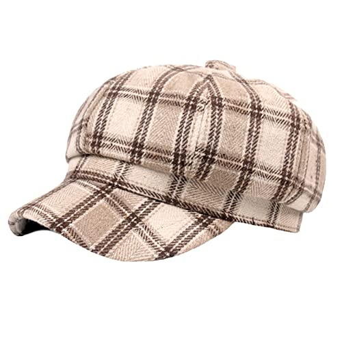 Womens Beret Caps Vintage Style Flat Cap Gatsby Ivy Irish Hat Casual Newsboy Hat