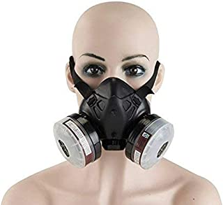 Holulo Paint Spray Respirator Half Face Respirator Anti-Dust Reusable Mask,Organic Vapor Respiratory Protection