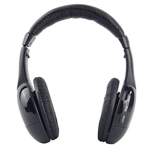 MagiDeal Auriculares Bluetooth sobre La Oreja, Auriculares Estéreo Inalámbricos, Plegables
