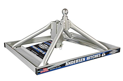 Andersen Hitches Aluminum Ultimate 5th Wheel Connection Toolbox Model   FOR TRUCKS WITH LARGE TOOLBOXES (w-funnel)   (3220-TBX)